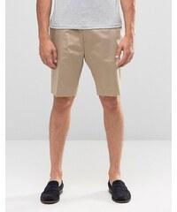 ASOS - Enge Shorts in Stone - Steingrau