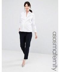 ASOS Maternity - Pantalon chino - Bleu marine