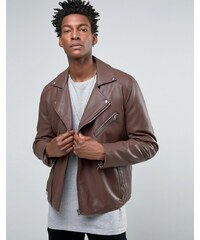 ASOS - Perfecto en similicuir - Bordeaux - Rouge
