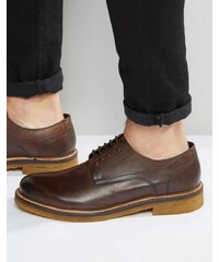 Base London - Lincoln - Chaussures derby en cuir - Marron