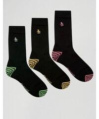 Original Penguin - Socken im 3er Pack - Schwarz
