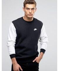 Nike SB Icon 800153-010 Sweat ras de cou Noir Noir