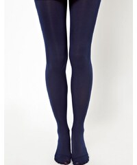 ASOS - Collants 80 deniers - Bleu marine