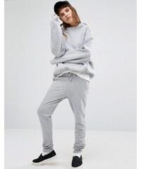 Le Coq Sportif - Pantalon de survêtement à logo - Gris - Gris