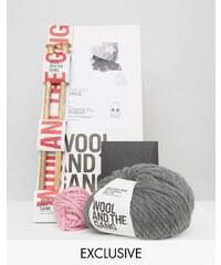 Wool and the Gang Wool & The Gang - DIY-Set für eine Mütze - Grau