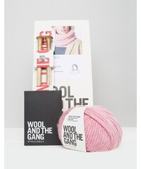 Wool and the Gang Wool & The Gang - DIY Lil - Rundschal-Set - Rosa