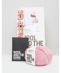 Wool and the Gang Wool & The Gang - DIY Zion Lion - Set für eine Bommelmütze - Rosa