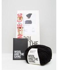 Wool and the Gang Wool & The Gang - DIY Zion Lion - Set für eine Bommelmütze - Schwarz