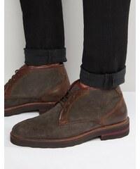 Rule London - Chukka-Stiefel aus Wildleder - Schwarz