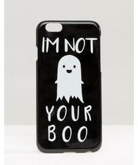 ASOS - Halloween I'm Not Your Boo - Coque pour iPhone 6 et 6s - Noir
