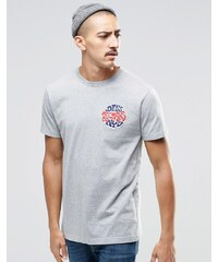 Deus Ex Machina - T-Shirt With avec petit logo vinyle - Gris