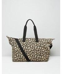 ASOS - Fourre-tout imprimé léopard - Multi