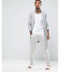 ASOS Loungewear - Pantalon de jogging skinny effet flammé - Beige