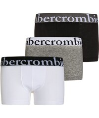 Abercrombie & Fitch 3 PACK Panties white/grey/black