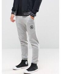 Converse - Pantalon de jogging color block en polaire - Gris 10003127-A02 - Gris