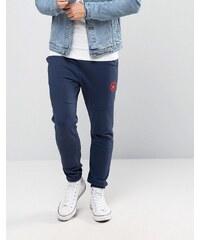 Converse - Pantalon de jogging color block en polaire - Noir 10003127-A01 - Noir