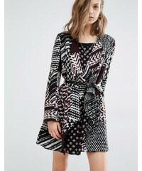 Ba&sh - Icare - Manteau style cardigan en maille - Multi