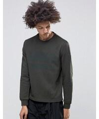 Systvm - Comb - Sweatshirt in Khaki - Grün