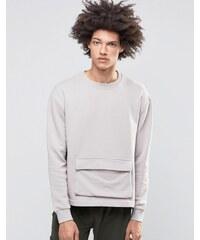 Systvm - Keez - Sweatshirt mit Tasche - Grau