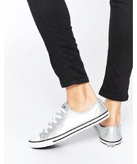 Converse - Chuck Taylor All Star Dainty - Sneakers in Silber-Metallic - Silber