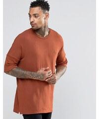 Criminal Damage - T-shirt à épaules tombantes - Orange