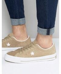 Converse - One Star 153965C-236 - Baskets - Fauve