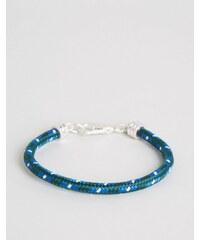 Jack Wills - Bracken - Blaues Seilarmband - Blau