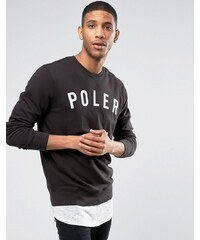 Poler - Sweat à gros logo - Noir