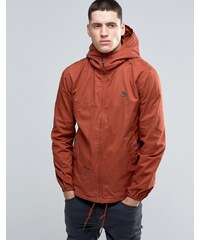 Pretty Green - Kapuzenjacke in Orange - Orange