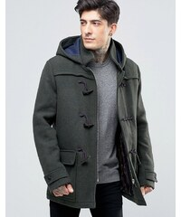 Scotch & Soda - Duffle-coat en laine - Vert chiné - Vert