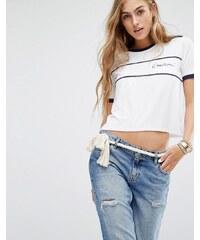 Lovers Friends - Cruisin - T-shirt avec liseré contrastant - Blanc