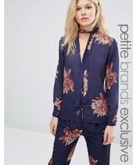 Alter Petite - Blouse de pyjama à fleurs - Multi