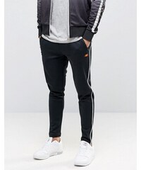 Ellesse - Pantalon de jogging skinny en polyester - Noir
