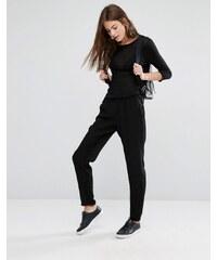 Vila Slouchy track pants - Noir
