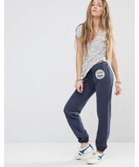 Hollister - Pantalon de survêtement avec logo - Bleu marine