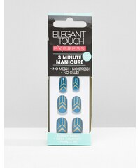 Elegant Touch - Express Nails - Teal Deco - Blau