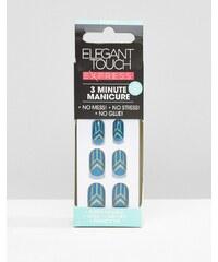 Elegant Touch - Express Nails - Faux-ongles Déco turquoise - Bleu