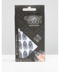 Elegant Touch - Faux ongles After Dark transparents en édition limitée - Noir mat - Noir