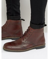 Red Tape - Bottines richelieu - Rouge