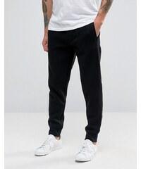 Armani Jeans - Jogginghose mit Bündchen und Logo in Schwarz - Schwarz