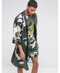 Jaded London - Souvenir - Kimono in Camouflage - Grün