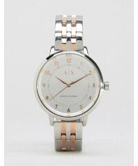 Armani Exchange - AX5370 - Armbanduhr im Metallmix - Mehrfarbig