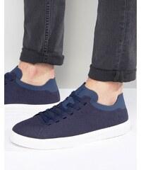 Native - Monaco - Flache Sneakers - Marineblau