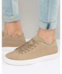 Native - Monaco - Flache Sneakers - Bronze