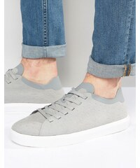 Native - Monaco - Flache Sneakers - Grau