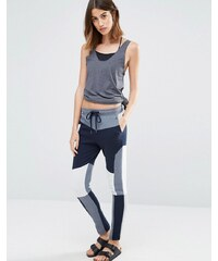Vero Moda Colourblock track pants - Bleu marine