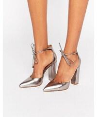 Steve Madden Steven Madden - Pampered - Chaussures à talons - Étain - Argenté