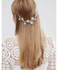 Love Rocks - Extension de cheveux avec fleur - Argenté