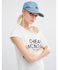 Cheap Monday - Casquette de baseball - Bleu brut - Bleu