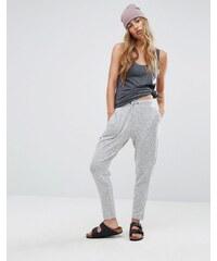 Pull&Bear - Pantalon de jogging en jersey doux - Gris